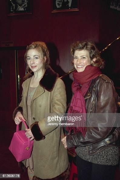 Julie Depardieu and Florence Pernet at the Eldorado Theater