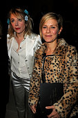 Julie Depardieu and Marina Fois attend Etam Spring/Summer 2010 Collection Launch by Natalia Vodianova at Hotel Ritz on January 25 2010 in Paris France