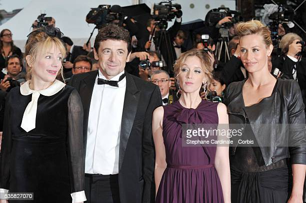 Julie Depardieu Patrick Bruel Ludivine Sagnier and Cecile de France at the Closing Ceremony and the premiere for 'Therese Desqueyroux' during the...