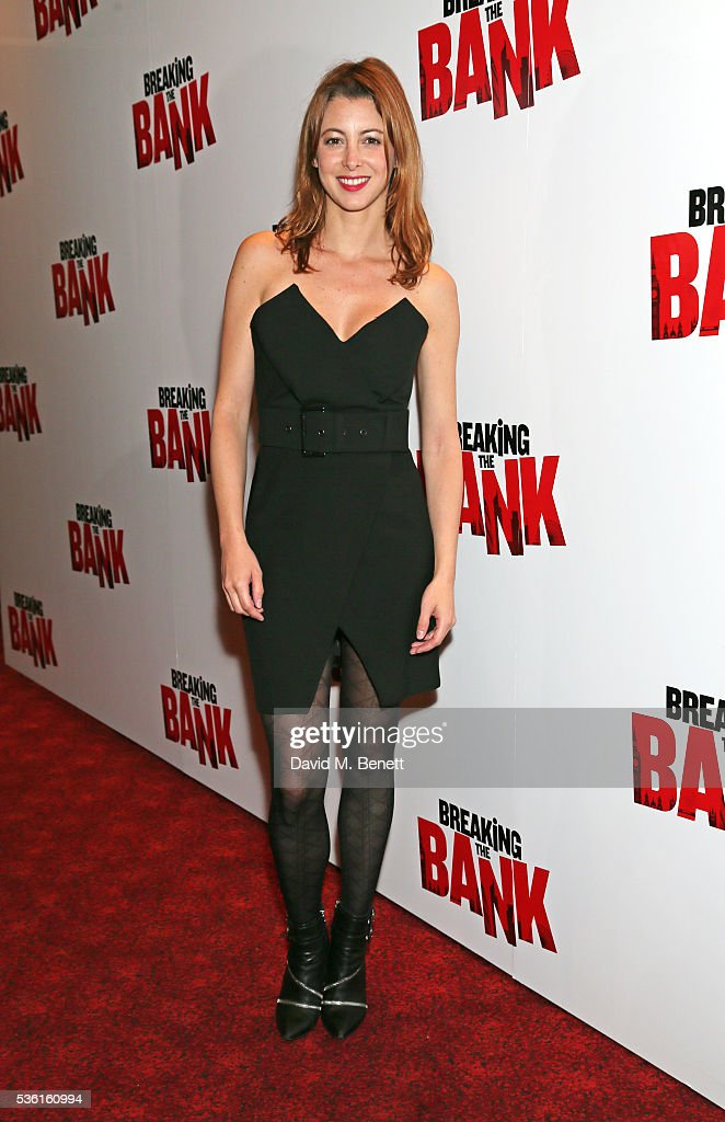 Julie Dray attends the UK gala screening of 'Breaking The Bank' at Empire Leicester Square on May 31, 2016 in London, England.