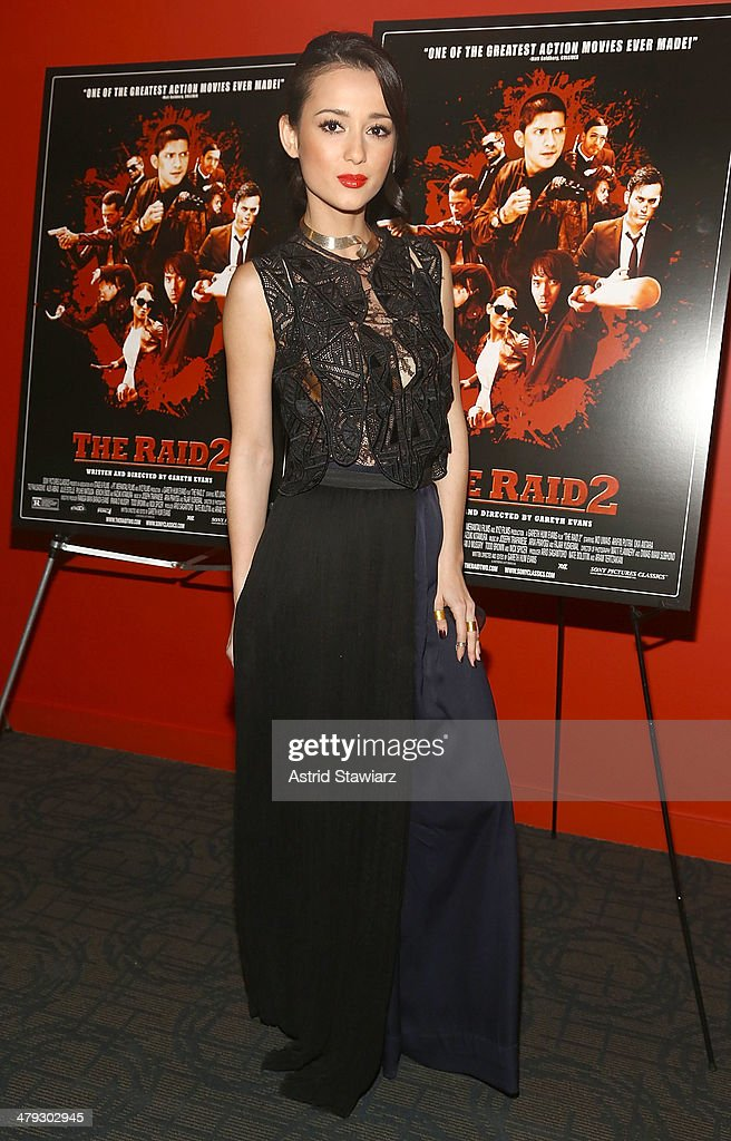 <a gi-track='captionPersonalityLinkClicked' href=/galleries/search?phrase=Julie+Estelle&family=editorial&specificpeople=12383123 ng-click='$event.stopPropagation()'>Julie Estelle</a> attends 'The Raid 2' special screening at Sunshine Landmark on March 17, 2014 in New York City.