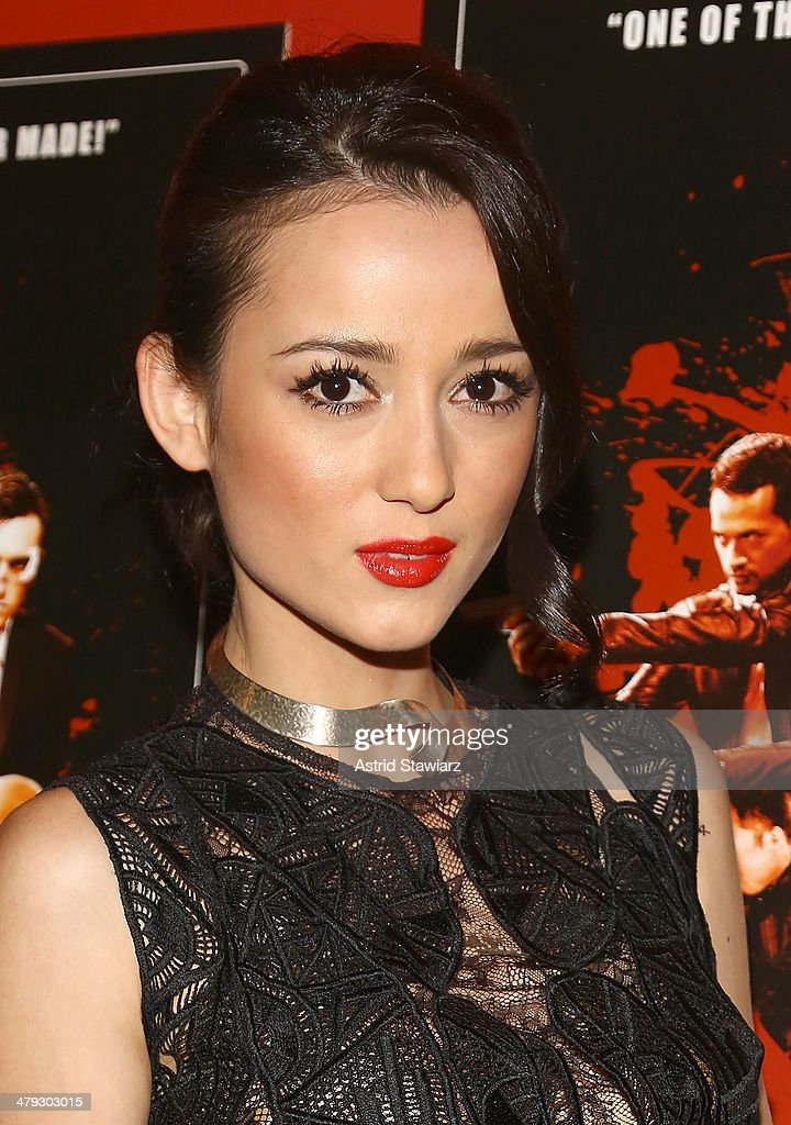 Julie Estelle attends 'The Raid 2' special screening at Sunshine Landmark on March 17, 2014 in New York City.