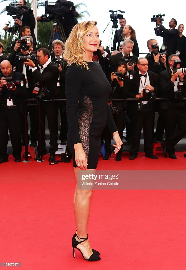 Julie Ferrier attends 'Inside Llewyn Davis' Premiere during the 66th Annual Cannes Film Festival at Palais des Festivals on May 19, 2013 in Cannes, France.