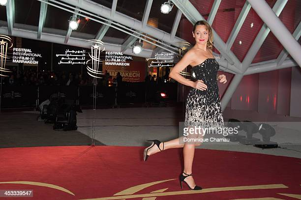 Julie Ferrier attends the 'Sara' Premiere At 13th Marrakech International Film Festival on December 3 2013 in Marrakech Morocco