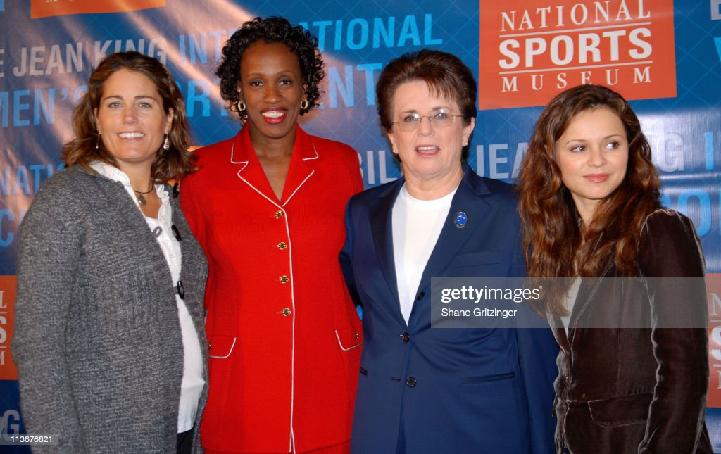 Sports Icons Press Conference Unveiling Plans for the Museum?s Billie Jean King
