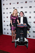 Julie Frates and Pete Frates attend the 2014 Sports Illustrated Sportsman of the Year Award Presentation at Pier 60 on December 9 2014 in New York...