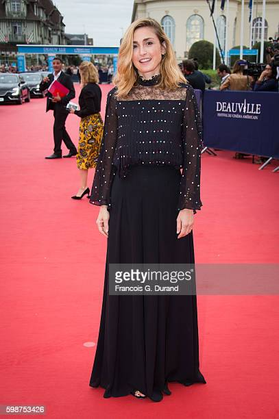 Julie Gayet arrives at the opening ceremony of the 42nd Deauville American Film Festival on September 2 2016 in Deauville France