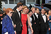 Julie Gayet at the premiere for 'Amour' during the 65th Cannes International Film Festival