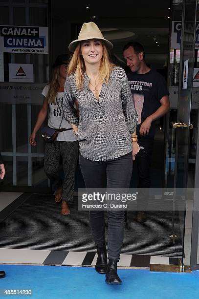 Julie Gayet attends the 8th Angouleme FrenchSpeaking Film Festival on August 28 2015 in Angouleme France