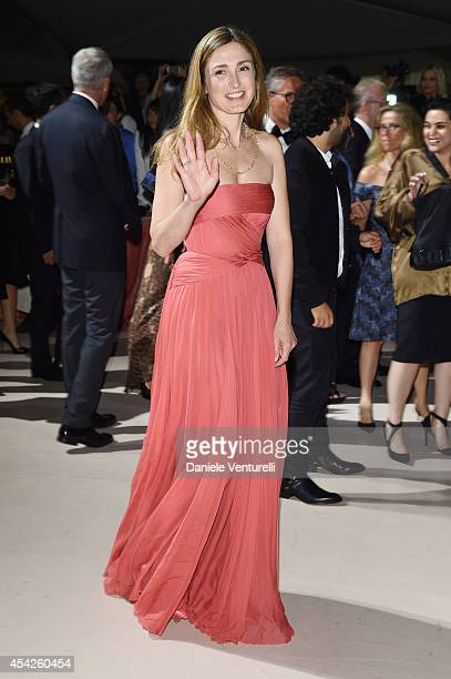 Julie Gayet attends the Opening Dinner during the 71st Venice Film Festival on August 27 2014 in Venice Italy