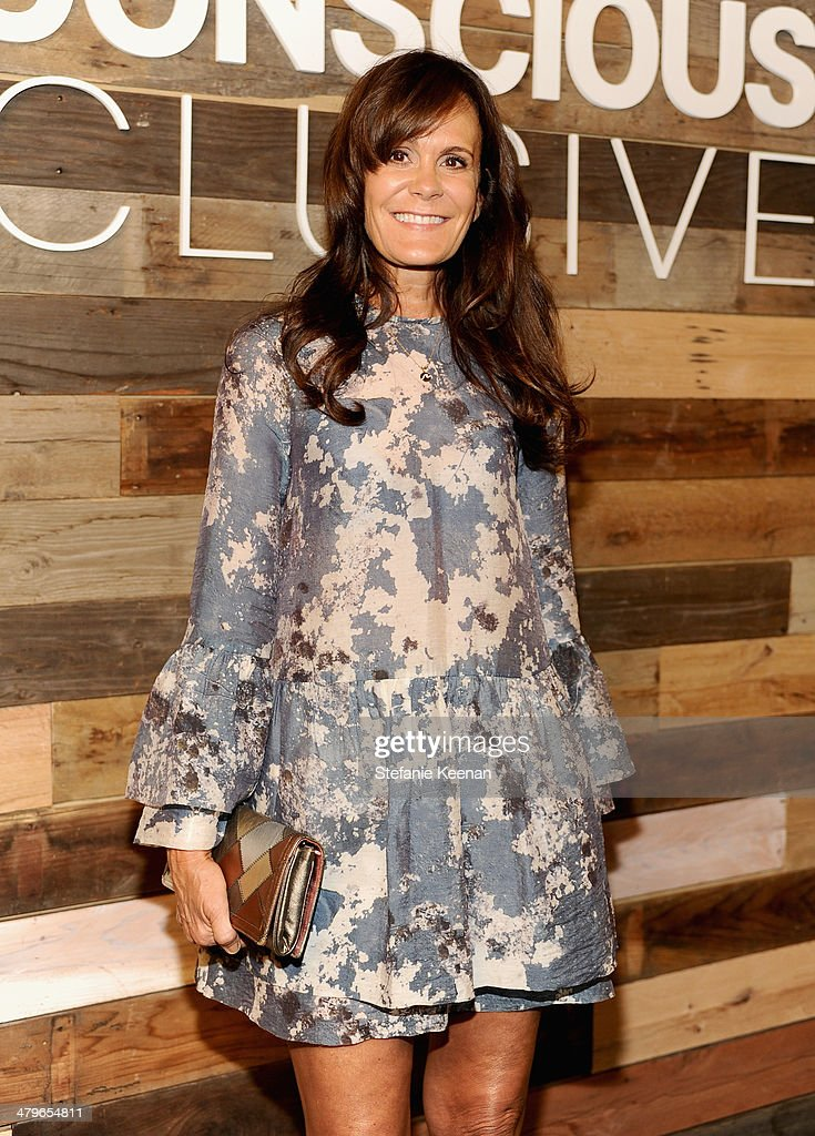 Julie Gilhart attends H&M Conscious Exclusive Dinner at Eveleigh on March 19, 2014 in West Hollywood, California.