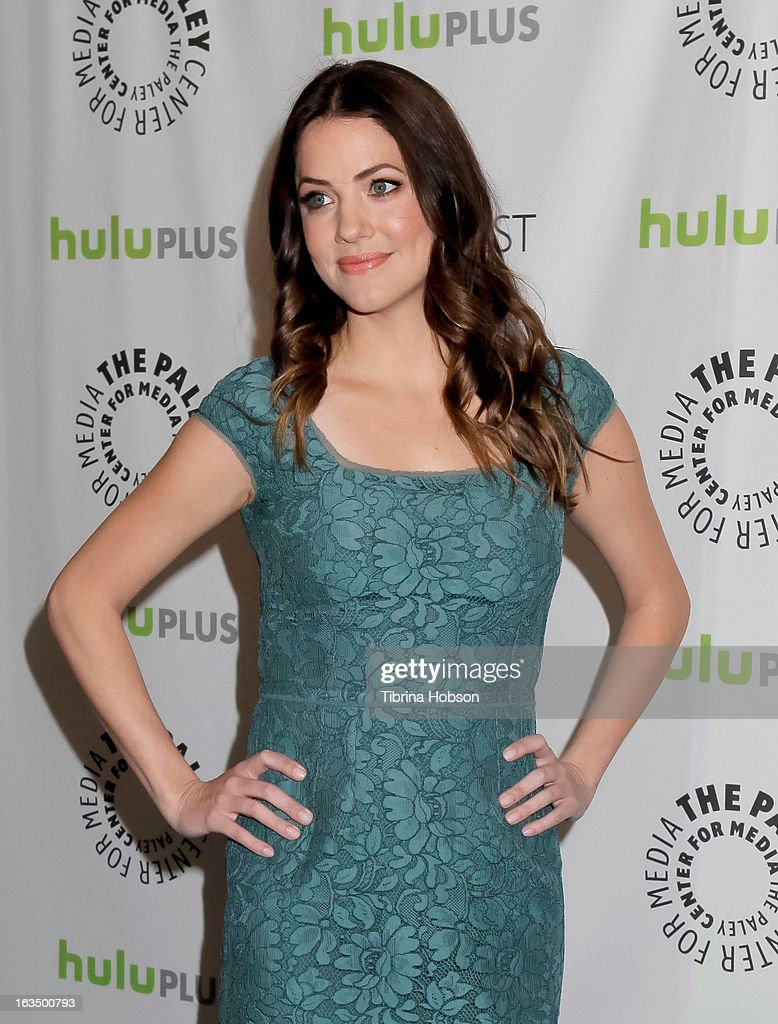 Julie Gonzalo arrives to the 30th annual PaleyFest for 'Dallas' at Saban Theatre on March 10, 2013 in Beverly Hills, California.