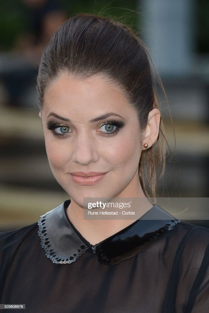 Julie Gonzalo attends the launch party of Dallas at Old Billingsgate