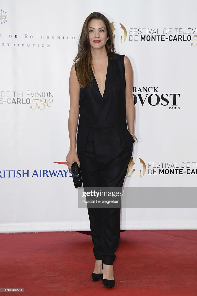 <a gi-track='captionPersonalityLinkClicked' href=/galleries/search?phrase=Julie+Gonzalo&family=editorial&specificpeople=2305946 ng-click='$event.stopPropagation()'>Julie Gonzalo</a> attends the opening ceremony of the 53rd Monte Carlo TV Festival on June 9, 2013 in Monte-Carlo, Monaco.