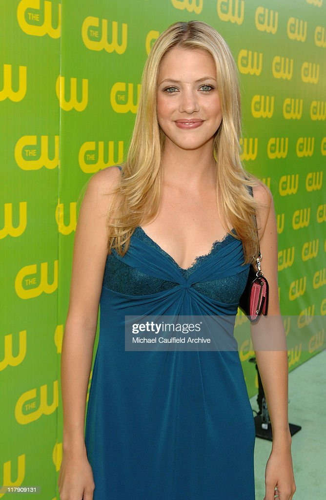 Julie Gonzalo during The CW Launch Party - Green Carpet at WB Main Lot in Burbank, California, United States.