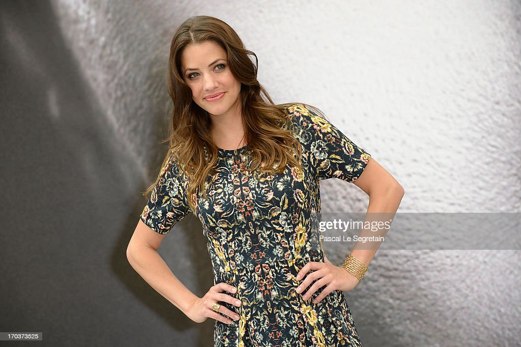 Julie Gonzalo poses at a photocall during the 53rd Monte Carlo TV Festival on June 12, 2013 in Monte-Carlo, Monaco.