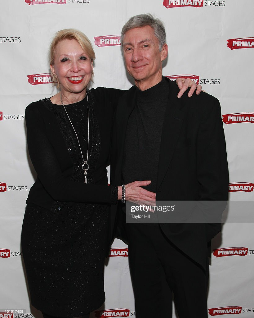 <a gi-track='captionPersonalityLinkClicked' href=/galleries/search?phrase=Julie+Halston&family=editorial&specificpeople=653379 ng-click='$event.stopPropagation()'>Julie Halston</a> and David Garrison attend the 'All In The Timing' 20th Anniversary Opening Night Reception at The Volstead on February 12, 2013 in New York City.