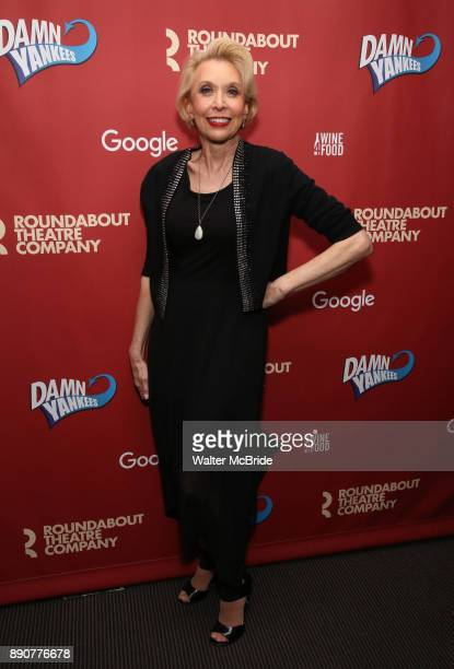 Julie Halston attends the cast party for the Roundabout Theatre Company presents a OneNight Benefit Concert Reading of 'Damn Yankees' at the Stephen...
