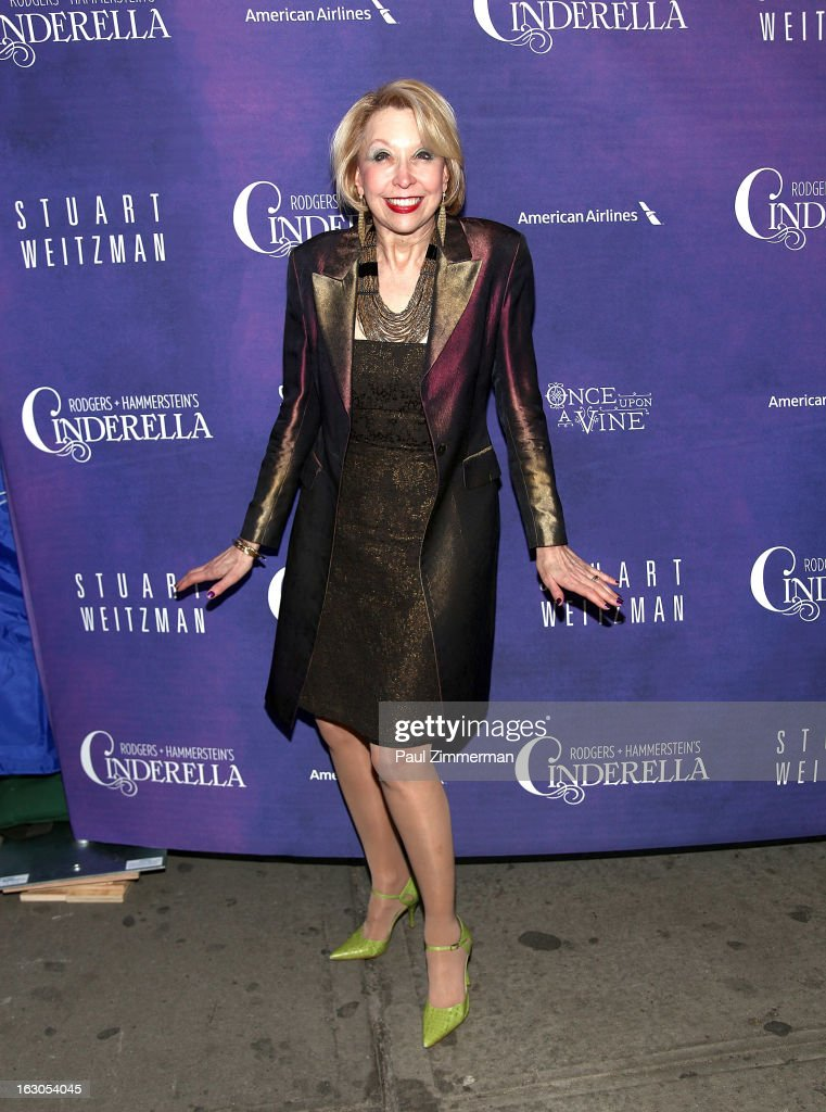 Julie Halston attends the 'Cinderella' Broadway Opening Night at Broadway Theatre on March 3, 2013 in New York City.