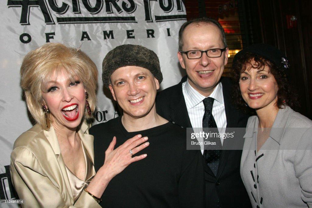 Julie Halston Charles Busch Manager of Bond 45 and Robin Strasser