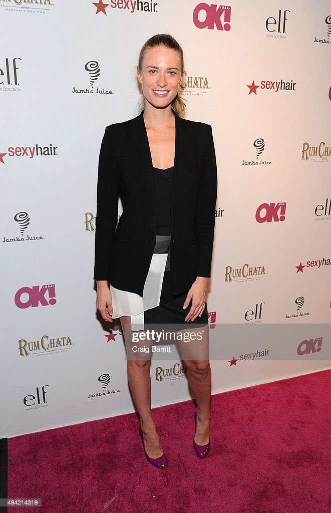 <a gi-track='captionPersonalityLinkClicked' href=/galleries/search?phrase=Julie+Henderson&family=editorial&specificpeople=4154524 ng-click='$event.stopPropagation()'>Julie Henderson</a> attends OK! Magazine's 'So Sexy' NY party at Marquee on May 28, 2014 in New York City.