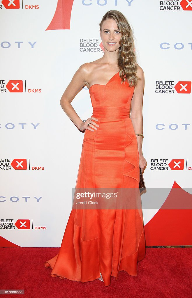 Julie Henderson attends the 2013 Delete Blood Cancer Gala at Cipriani Wall Street on May 1, 2013 in New York City.