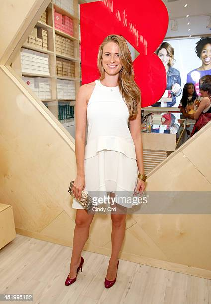 Julie Henderson attends the opening of the Birchbox flagship store on July 10 2014 in New York City