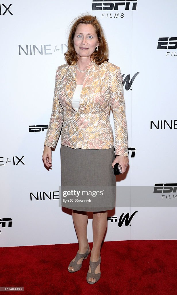 Julie Hermann attends 'Venus Vs.' and 'Coach' New York Special Screenings at Paley Center For Media on June 24, 2013 in New York City.