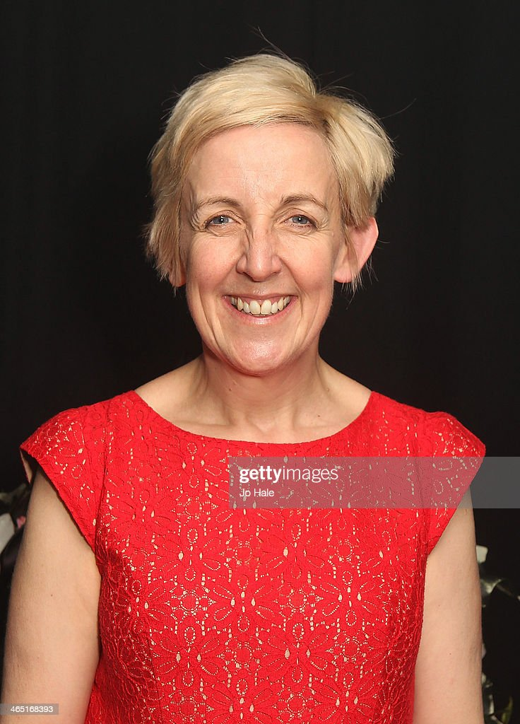 <a gi-track='captionPersonalityLinkClicked' href=/galleries/search?phrase=Julie+Hesmondhalgh&family=editorial&specificpeople=6470659 ng-click='$event.stopPropagation()'>Julie Hesmondhalgh</a> aka Hayley Cropper poses backstage at the Hayley Cropper Coronation Street Memorial at G-A-Y on January 25, 2014 in London, England.