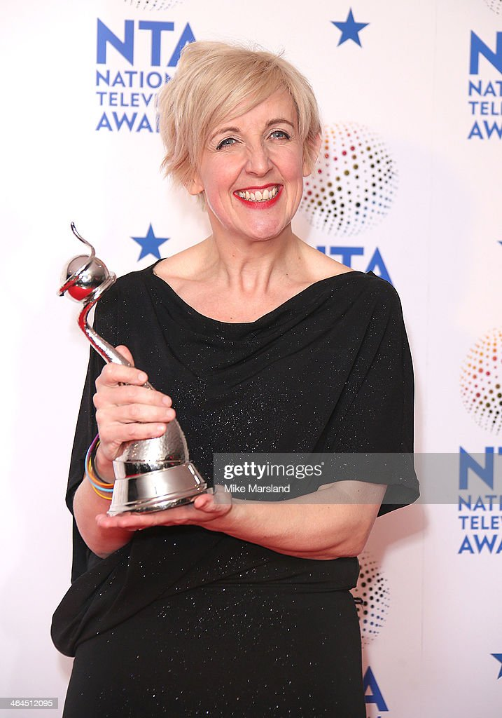 <a gi-track='captionPersonalityLinkClicked' href=/galleries/search?phrase=Julie+Hesmondhalgh&family=editorial&specificpeople=6470659 ng-click='$event.stopPropagation()'>Julie Hesmondhalgh</a> poses in the winners room at the National Television Awards at 02 Arena on January 22, 2014 in London, England.