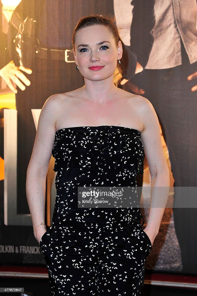 Julie Judd attends the 'Taxi Brooklyn' Paris premiere at Cinema Gaumont Marignan on March 10, 2014 in Paris, France.