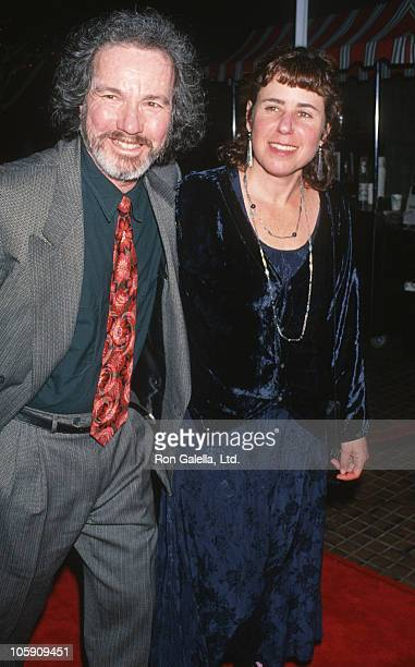 Julie Kavner and guest during 'I'll Do Anything' Los Angeles Premiere at Avco Theater in Westwood California United States