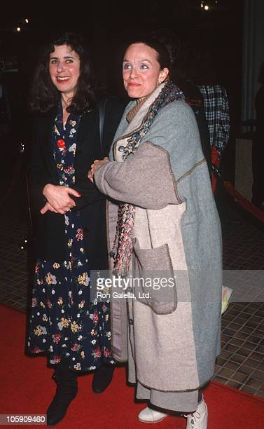 Julie Kavner and Valerie Harper during Screening of 'This is My Life' February 18 1992 at AVCO Cinema in Westwood California United States