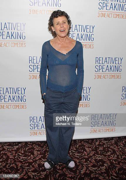 Julie Kavner attends a meet greet with the cast of Broadway's 'Relatively Speaking' at Sardi's on September 9 2011 in New York City