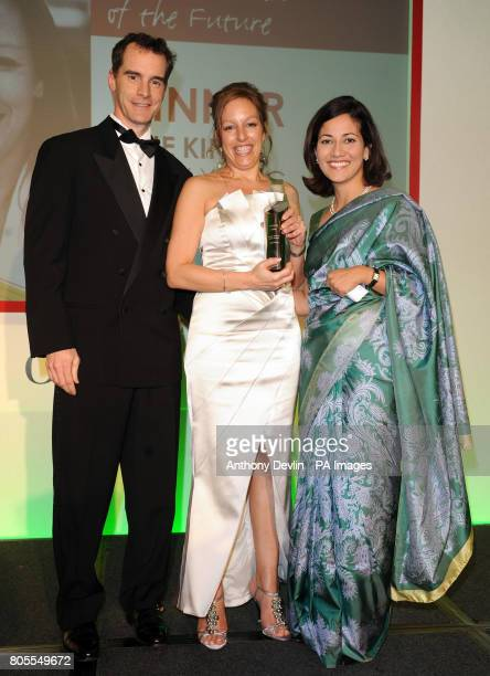Julie King head of external relations for the Olympic Delivery Authority which is organising the London 2012 Olympic Games is awarded Media Woman of...