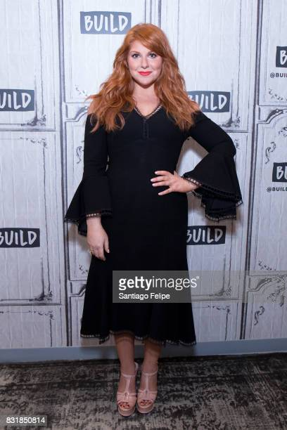 Julie Klausner attends Build Presents to discuss her show 'Difficult People' at Build Studio on August 15 2017 in New York City