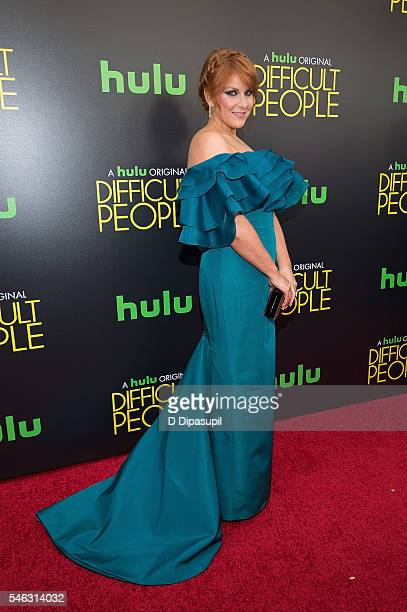 Julie Klausner attends the 'Difficult People' New York premiere at The Metrograph on July 11 2016 in New York City