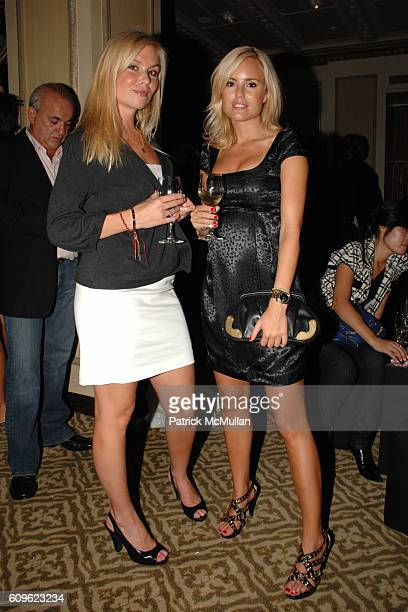 Julie Klingner and Sofi Sahrman attend MARC JACOBS Afterparty at 24 Fifth Ave on September 10 2007 in New York City