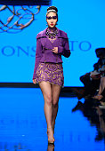 Alexis Monsanto At Los Angeles Fashion Week Powered By...