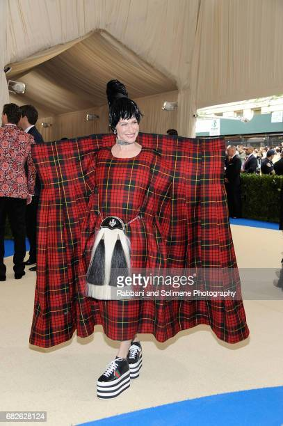 Julie Macklowe attends 'Rei Kawakubo/Comme des Garcons Art Of The InBetween' Costume Institute Gala Arrivals at Metropolitan Museum of Art on May 1...