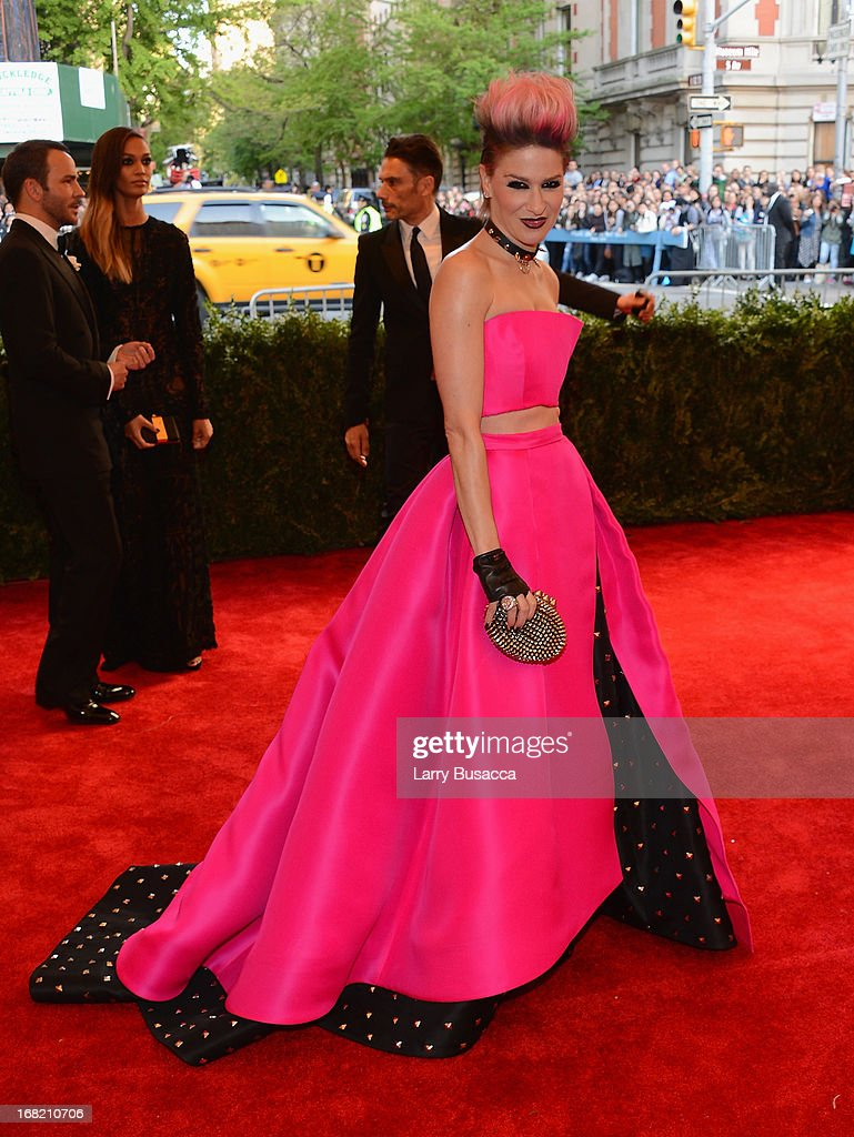 Julie Macklowe attends the Costume Institute Gala for the 'PUNK: Chaos to Couture' exhibition at the Metropolitan Museum of Art on May 6, 2013 in New York City.
