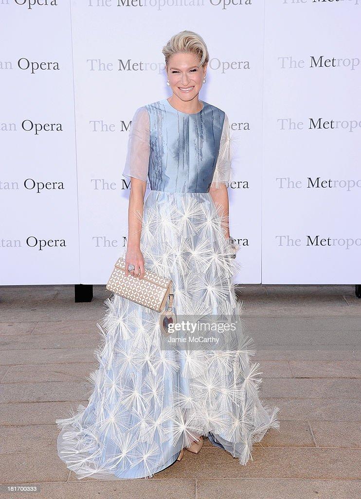 Julie Macklowe attends the Metropolitan Opera Season Opening Production Of 'Eugene Onegin' at The Metropolitan Opera House on September 23, 2013 in New York City.