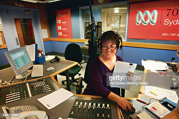 Julie McCrossan during her first breakfast show for ABC 702 Sydney She has taken over the position left vacant by former host Angela Catterns who...