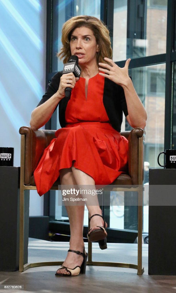 Julie Menin attends Build to discuss The One Film, One New York campaign at Build Studio on August 16, 2017 in New York City.