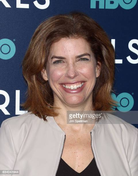 Julie Menin attends the the New York premiere of the sixth and final season of 'Girls' at Alice Tully Hall Lincoln Center on February 2 2017 in New...
