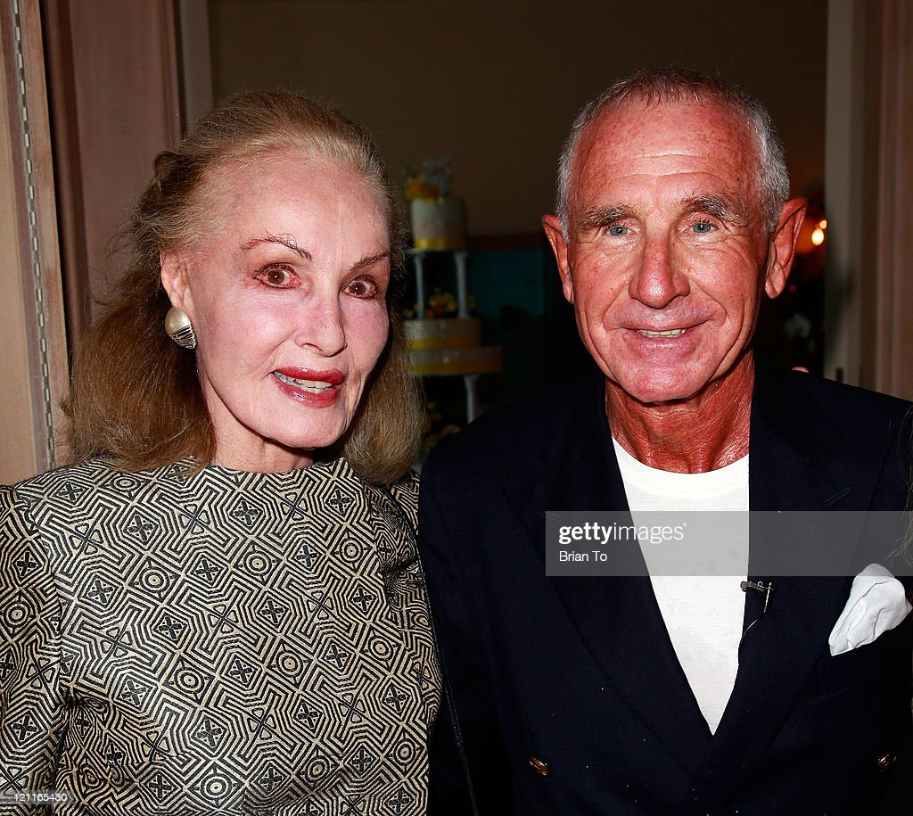 <a gi-track='captionPersonalityLinkClicked' href=/galleries/search?phrase=Julie+Newmar&family=editorial&specificpeople=572110 ng-click='$event.stopPropagation()'>Julie Newmar</a> and Prince Frederic von Anhalt attend Zsa Zsa Gabor and Prince Frederic 25th wedding anniversary party on August 14, 2011 in Los Angeles, California.