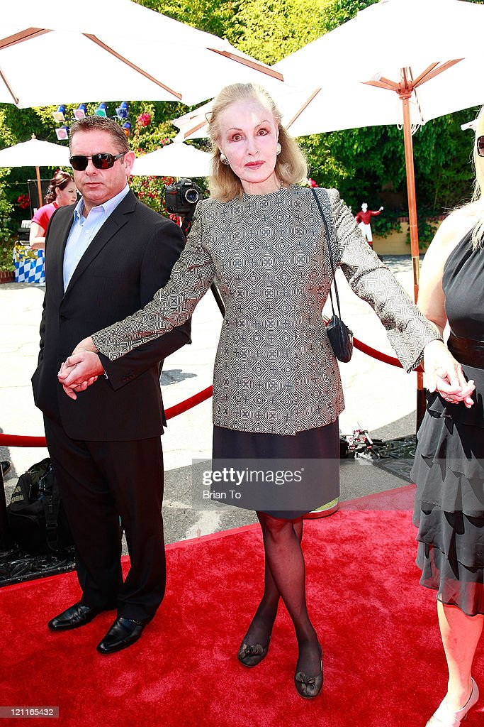 Julie Newmar attends Zsa Zsa Gabor and Prince Frederic 25th wedding anniversary party on August 14, 2011 in Los Angeles, California.
