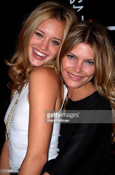 Julie Ordon and May Andersen during Grand Opening of the Stuart Hirsch Lite Touch Salon in New York City April 25 2007 at Stuart Hirsch Lite Touch...