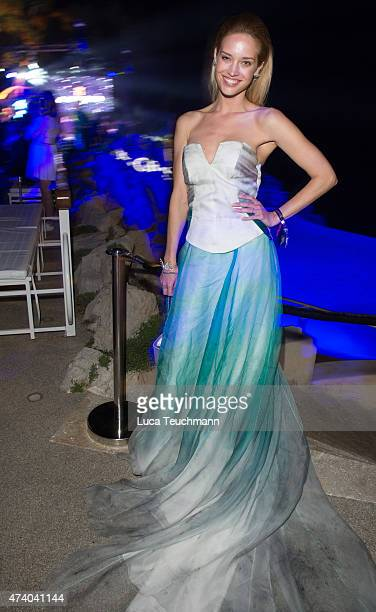 Julie Ordon attends the De Grisogono Party at the 67th Annual Cannes Film Festival on May 19 2015 in Cap d'Antibes France