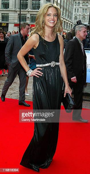 Julie Ordon attends the Flashbacks of a Fool World Film Premiere at the Empire Leicester Square on April 13 2008 in London England